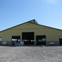 Matsqui, BC – Dairy Barn Construction
