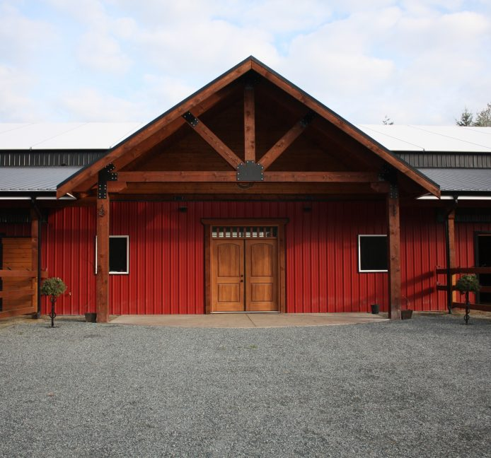 Langley, BC - Stables & Riding Arena Construction