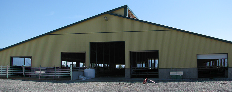 Matsqui, BC - Dairy Barn Construction